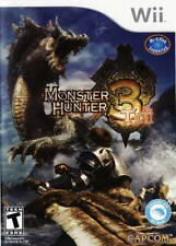 Monster Hunter TRI (3) (Nintendo Wii, J-RPG, CAPCOM) - Brand New/Factory Sealed