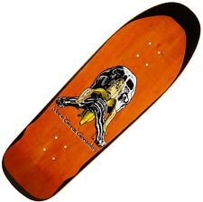 "BLIND ""Skull & Banana"" Gonz Skateboard Deck 9.875"" ORANGE 1991 Printed Gonzalez"