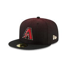 Arizona Diamondbacks MLB New Era Authentic On-Field 59FIFTY Fitted Hat-Black