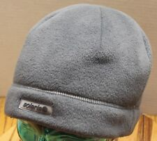 NICE SOLARIS GRAY FLEECE BEANIE HAT OSFM VERY GOOD CONDITION
