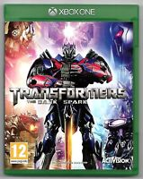 TRANSFORMERS THE DARK SPARK / Jeu XBOX ONE / TBE