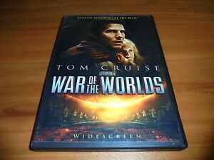 War of the Worlds (DVD, 2005, Widescreen) Tom Cruise