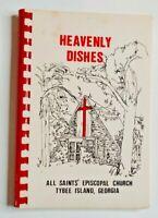 Heavenly Dishes Cookbook, All Saints Episcopal Church, Tybee Island, Georgia