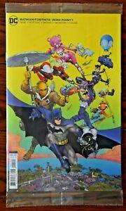 BATMAN FORTNITE ZERO POINT #1 unused code DC COMICS 1ST PRINT COVER  in Polybag