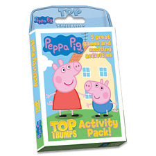 BRAND NEW TOP TRUMPS: PEPPA PIG : ACTIVITY PACK 014018
