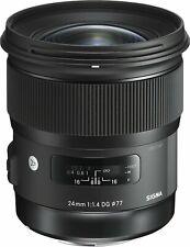 Sigma 24mm f1.4 DG HSM Art Lens for Nikon AF fit (UK Stock) BNIB