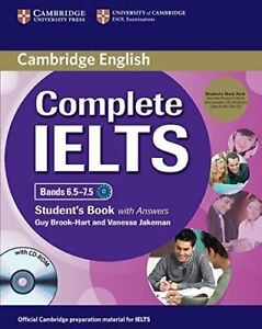 Complete IELTS Bands 6.5-7.5 Student's Pack (Student's Book wit... 9781107688636