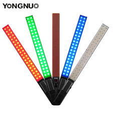 2 * Popular Yongnuo YN360 LED Video Camera Light 3200K- 5500K RGB Colorful Stick