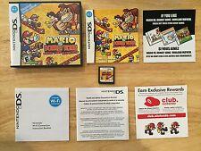 Mario vs. Donkey Kong: Mini-Land Mayhem Nintendo DS DSi 3DS System Complete Game