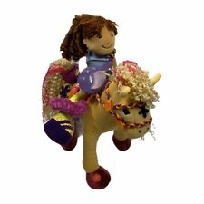 Groovy Girls Calypso Callie Horse Manhattan Toys  Poseable Plush And Yvette Doll