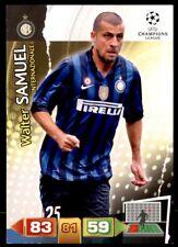 Panini Champions League 2011-2012 Adrenalyn XL Walter Samuel FC Inter Milan