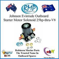 # 582708  Johnson Evinrude Outboard New RMP 12 Volt Starter Motor Solenoid