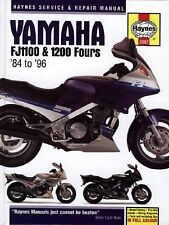1984-1996 Haynes Yamaha FJ1100 & 1200 Fours Hardback Repair Manual