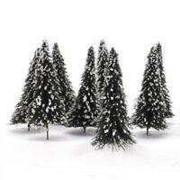 Small Christmas Tree Mini Tabletop Decorations Xmas Snow Home Decor Model Gift