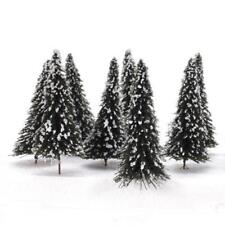 Small Christmas Tree Mini Tabletop Decorations Xmas Snow Home Decor Model Gift