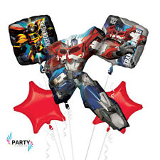 Transformers Party Decorations Bouquet of Balloons. Anagram. Included