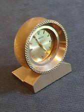 Vintage Retro Bulova Accutron Mini Clock Rare