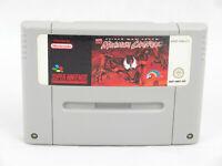 Maximum Carnage Spider Man Venom SNES Nintendo Cartridge Only PAL