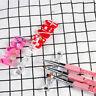 PJ_ FT- 5 Grids Nail Art Painting Brush Holder Rack Showing Shelf Display Stan