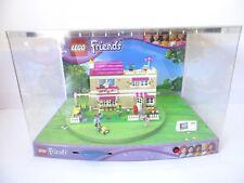 Belle VITRINE LEGO FRIENDS 3315 La Villa Olivia's House - avec Eclairage