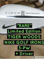 [TIGER WOODS] NIKE - X100 Blades Limited Edition Collectors + Driver Boxed /Rare