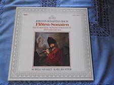 LP Johann Sebastian Bach - Aurèle Nicolet ∙ Karl Richter - Vol. 1 - Flöten-Sonat