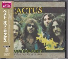 Cactus - Cactology - The Cactus Collection - CD (ew AMCY2194 Japan)