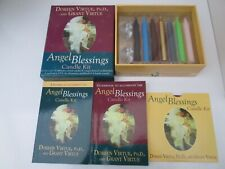 "Rare  ""Angel Blessings"" Candle Kit & instruction booklet by Doreen Virtue."