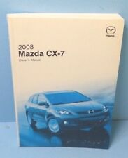 08 2008 Mazda CX-7/CX7 owners manual