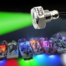 Tidal Wake IP68 Underwater Boat Drain Plug LED Light UltraBright 1800 Lumen GRN