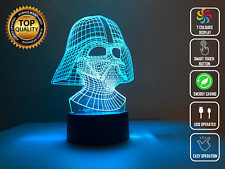 Star Wars Darth Vader 3D Acrylic LED Night Light 7 Color Table Desk Lamp Gift
