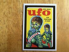 2016 TOPPS MARS ATTACKS OCCUPATION WACKY PACKAGES SUB-SET CARD UFO NEIL CAMERA