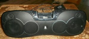 logitech S715i rechargeable speaker powers up in good shape used