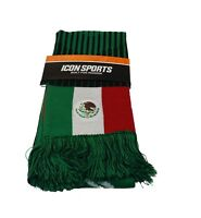 Mexico Scarf Flag Reversible  Soccer FMF National Team Jersey Soccer world cup
