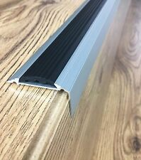 Anodised Aluminium Stair Nosing Edge Trim Step Nose Edging Nosings -120 cm long