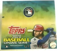 2020 TOPPS UPDATE SERIES BASEBALL RETAIL BOX FACTORY SEALED 24 CT