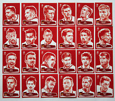 PANINI EURO 2016-Set 24 sticker Coca Cola COMPLETO