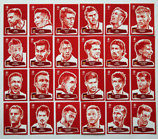Panini EURO 2016 - Set 24 Sticker Coca Cola komplett