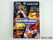 Custom Robo Battle Revolution Gamecube Japan Import JP Region Locked US Seller