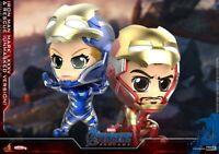 Hot Toys COSBABY MK85 & Rescue Armor Open Helmet Avengers Endgame COSB667 Toys