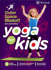 YOGA FOR KIDS: Outer Space Blastoff (DVD) workouts Jodi Komitor GAIAM SEALED NEW