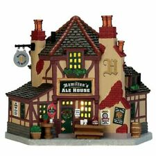 Coventry Cove by Lemax Christmas Village Building Hamilton's Ale House #75250