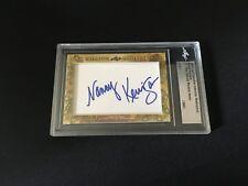 Nancy Kerrigan 2018 Leaf Masterpiece Cut Signature auto signed autograph 1/1 JSA