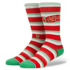 Stance x Seinfeld Festivus Christmas Holiday Socks M545D17FES-RED-L Large [9-12]