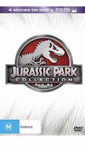 Jurassic Park Collection DVD Region 4 NEW
