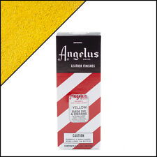 Angelus Brand Yellow Suede Dye & Dressing with Applicator in 3 Fl. Oz.