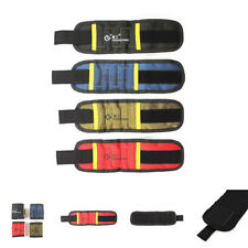 Magnetic Wristband Belt Toolkit Scissor Screw Nails Tool Storage Bracelet Tape