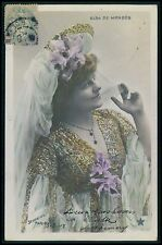 aa Elsa de Mendes Theater theatre Edwardian lady 1900-1910s photo postcard
