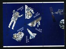 Sweden 2009 booklet pane Travel in space. Christer Fuglesang astronaut.  MNH