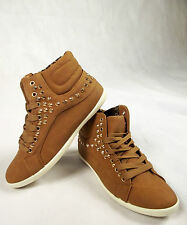 Damen Sneaker Sportschuhe Turnschuhe Freizeit Schuhe braun 36 37 38 39 40 41